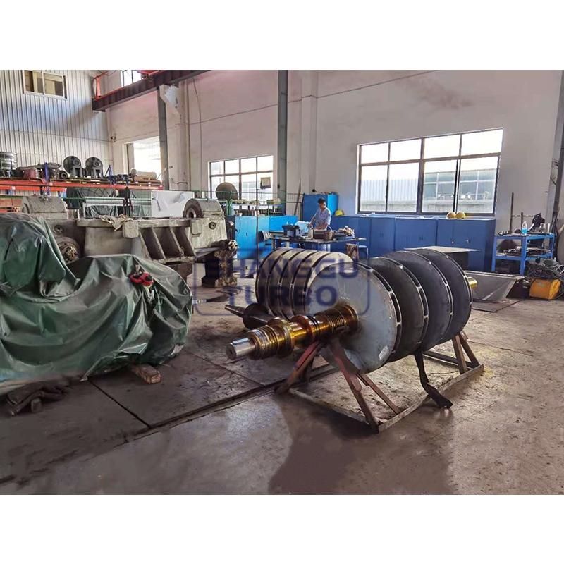 Multi-stage fan rotor