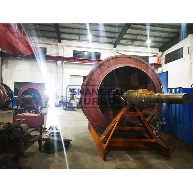Dust removal fan rotor